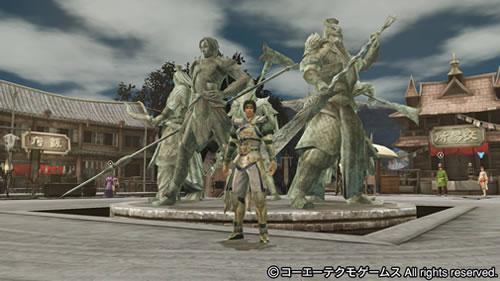 PS4基地シンボル五虎大将(趙雲と関羽)