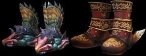 飛蹴甲の上位&異色武器のデザイン画像