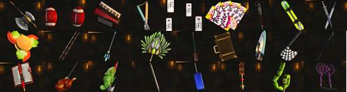 異色武器セット3と4のまとめ画像