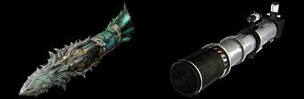 螺旋弩の上位&異色武器のデザイン画像
