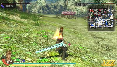 焔刃剣の上位武器を装備