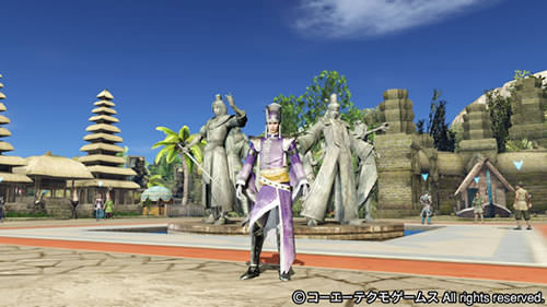 PS4基地シンボ司馬一族と張春華の画像(遊園地テーマ)