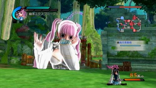 ペローナの王元姫DLC衣装の必殺技画像