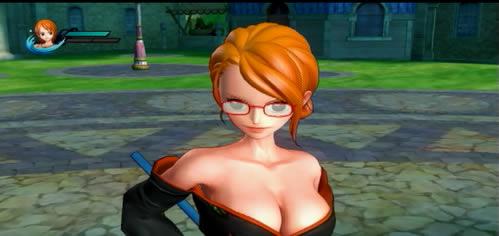 着物Verナミのメガネ姿