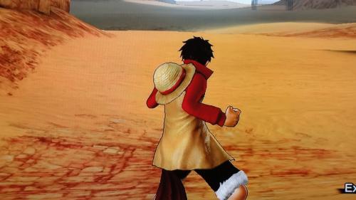 ルフィ決戦服DLC衣装の背面画像
