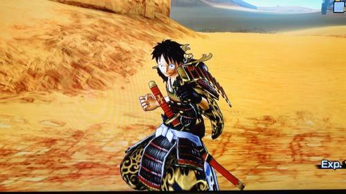 海賊無双2のルフィサムライ衣装DLC画像