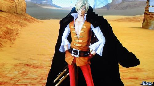 サンジ決戦服DLC衣装画像・前面