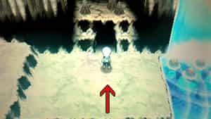 流星の滝(たきのぼり)