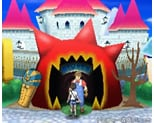ホラーハウスの見た目(青)