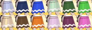 ラインフレアスカートの色一覧表TOP画像