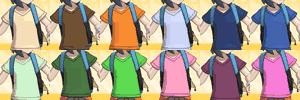 Tシャツの色一覧表TOP画像
