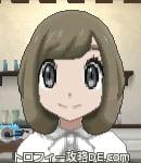 サンムーン女主人公の髪型ボブ・色アッシュブラウン(前髪おろして)