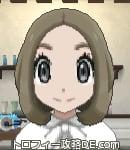 サンムーン女主人公の髪型ボブ・色アッシュブラウン(前髪すっきり)