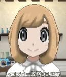 サンムーン女主人公の髪型ボブ・色ライトベージュ(前髪おろして)