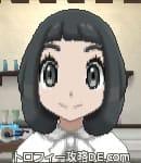 女の主人公の髪型ボブ(前髪ぱっつん)
