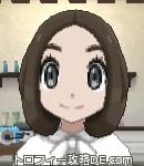 サンムーン女主人公の髪型ボブ・色ダークブラウン(前髪すっきり)