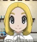 サンムーン女主人公の髪型ボブ・色ゴールド(前髪すっきり)