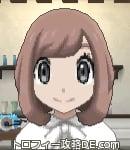 サンムーン女主人公の髪型ボブ・色ピンクラブラウン(前髪おろして)