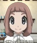 サンムーン女主人公の髪型ボブ・色アッシュブラウン(前髪ぱっつん)