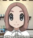 サンムーン女主人公の髪型ボブ・色ピンクブラウン(前髪すっきり)