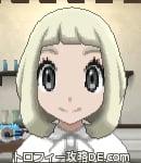サンムーン女主人公の髪型ボブ・色プラチナブロンド(前髪ぱっつん)
