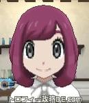 サンムーン女主人公の髪型ボブ・色レッド(前髪おろして)