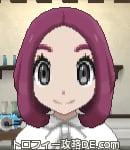 サンムーン女主人公の髪型ボブ・色レッド(前髪すっきり)