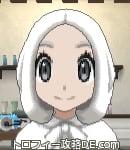 サンムーン女主人公の髪型ボブ・色ホワイト(前髪すっきり)