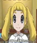 サンムーン女主人公の髪型ツインテール・色ゴールド(前髪ぱっつん)