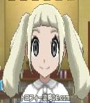 サンムーン女主人公の髪型ツインテール・色プラチナブロンド(前髪ぱっつん)