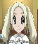 サンムーン女主人公の髪型ツインテール・色プラチナブロンド(前髪すっきり)