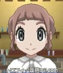 サンムーン女主人公の髪型ギブソンタック・色アッシュブラウン(前髪ぱっつん)