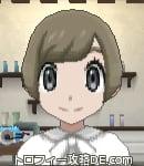 サンムーン女主人公の髪型ショート・色アッシュブラウン(前髪おろして)