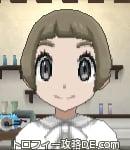 サンムーン女主人公の髪型ショート・色アッシュブラウン(前髪ぱっつん)
