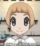 サンムーン女主人公の髪型ショート・色ライトベージュ(前髪ぱっつん)