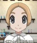 サンムーン女主人公の髪型ショート・色ライトベージュ(前髪すっきり)