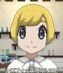 サンムーン女主人公の髪型ショート・色ゴールド(前髪おろして)