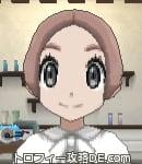 サンムーン女主人公の髪型ショート・色ピンクブラウン(前髪すっきり)