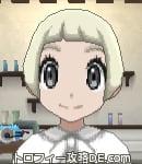 サンムーン女主人公の髪型ショート・色プラチナブロンド(前髪ぱっつん)