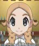 サンムーン女主人公の髪型リゾートツインテール・色ライトベージュ(前髪すっきり)