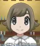 サンムーン女主人公の髪型スプラッシュカール・色アッシュブラウン(前髪おろして)