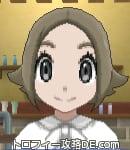 サンムーン女主人公の髪型スプラッシュカール・色アッシュブラウン(前髪すっきり)