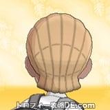 サンムーン男主人公の髪型ブレイズ・髪色ライトベージュの後ろ姿