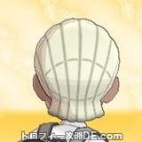 サンムーン男主人公の髪型ブレイズ・髪色プラチナブロンドの後ろ姿