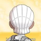 サンムーン男主人公の髪型ブレイズ・髪色ホワイトの後ろ姿