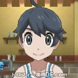 サンムーン男主人公の髪型ショート・髪色ブラック
