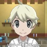 サンムーン男主人公の髪型ショート・髪色プラチナブロンド