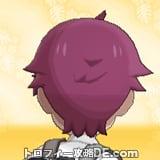 サンムーン男主人公の髪型ショート・髪色レッドの後ろ姿
