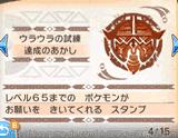 トレーナーパス(ウラウラの試練達成のあかし)