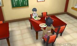 毎日イベント:レストランでハートのうろこ集め